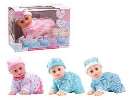 Кукла-пупс ползающая, звуковые эффекты,