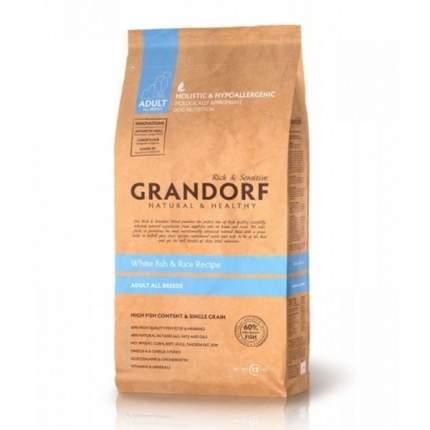 Сухой корм для собак Grandorf Adult All Breeds, рыба, рис, 12кг