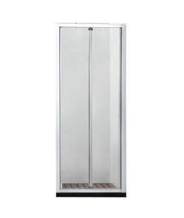 Душевая дверь в нишу Bravat Line 100x200 складная