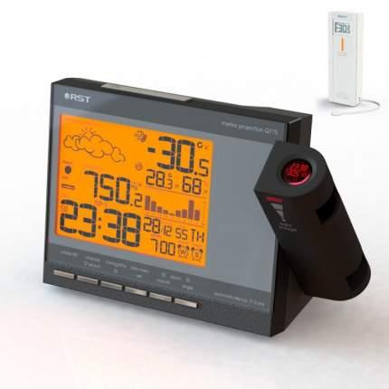 Проекционная метеостанция с термодатчиком RST 32775