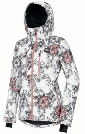 Куртка Сноубордическая Picture Organic 2020-21 Pluma Peonies White (Us:s)