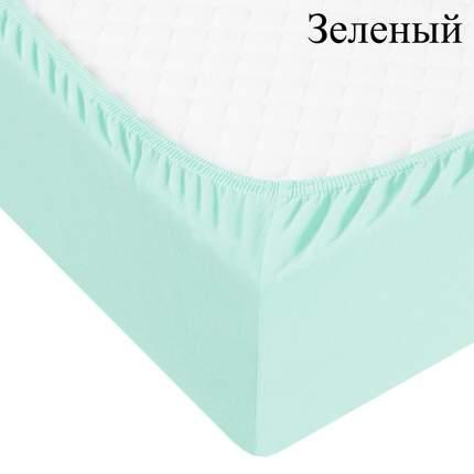 Адель Простыня на резинке Boaz Цвет: Зеленый (180х200)