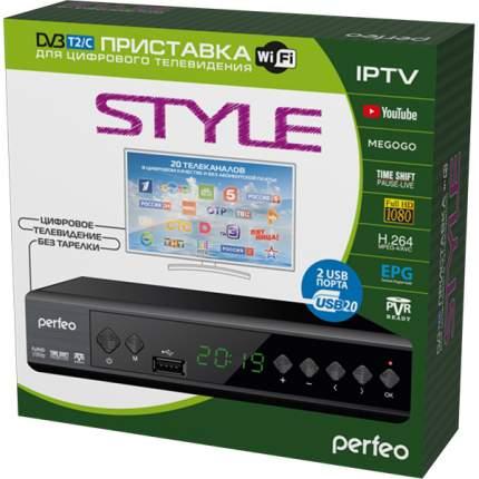 DVB-T2 приставка Perfeo Style Black