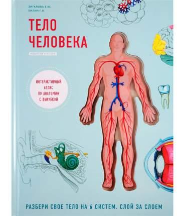 Книга Тело человека. Интерактивный атлас по анатомии с вырубкой