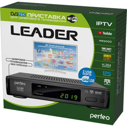 DVB-T2 приставка Perfeo Leader Black