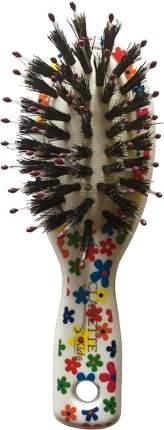 Щетка для волос CLARETTE мини со смешанной щетиной
