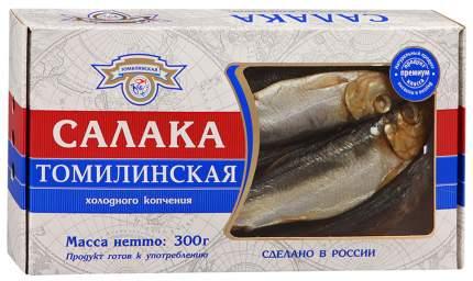 Салака Томилинская холодного копчения неразделанная 300 г