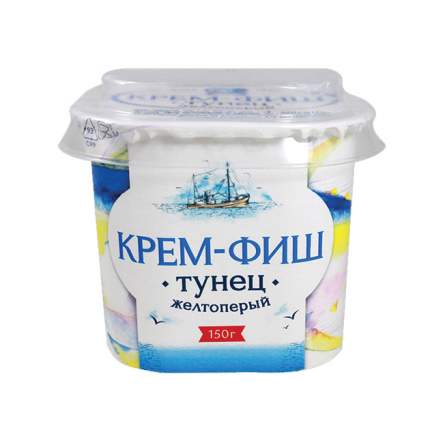 Паста Крем-фиш рыбная тунец 150 г