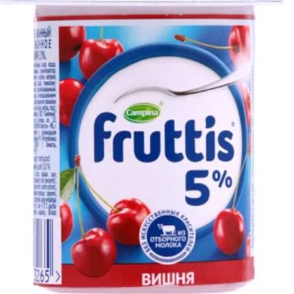 Продукт йогуртный Фруттис Сливочное лакомство вишня 5% 115 г