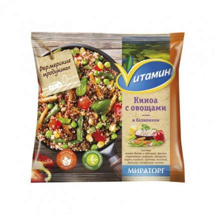 Смесь овощная Витамин замороженная киноа с овощами базиликом 400 г