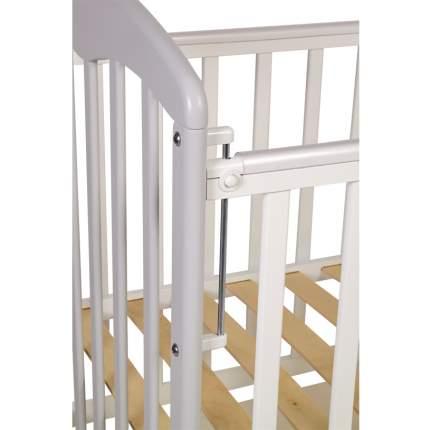 Кроватка детская Polini kids Simple 328 белый/серый