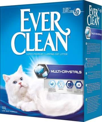 Наполнитель для кошачьего туалета Ever Clean Multi Crystals, комкующийся, 10 л, 10 кг