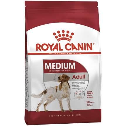 Сухой корм для собак ROYAL CANIN Adult Medium, рис, птица, свинина, 15кг