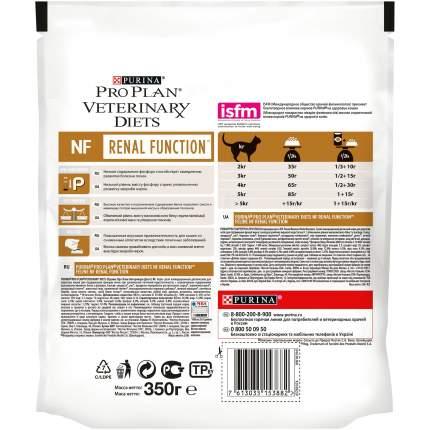 Сухой корм для кошек Pro Plan Veterinary Diets NF Renal Function ,0,35кг