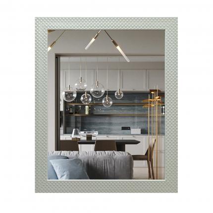 Зеркало Континент Милана белая 600х740/Б014