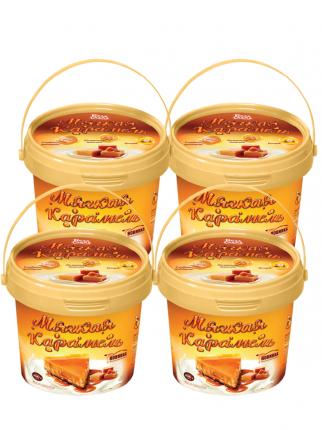 """Бела Слада Молокосодержащий продукт вареный с сахаром """"Мягкая карамель"""" 5%, 4 шт по 400 г"""