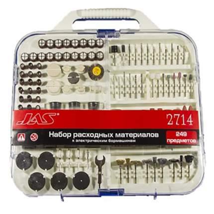Набор насадок к электрическим бормашинам, 249 шт, Китай, JAS2714