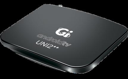 DVB-T2 приставка Gi Uni 2++ Black