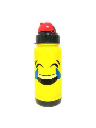 Бутылка-поильник с уплотнёнными стенками СМАЙЛИК, 300 мл (Вид смайла: Влюблённый  )