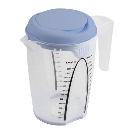 Емкость для блендера мерная Plast Team Stocholm 1,5 л misty blue