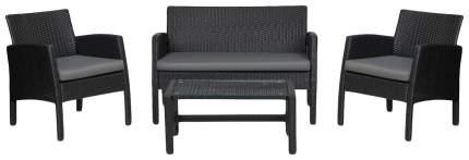 Набор садовой мебели Hoff San Marino 80299077 black 4 предмета