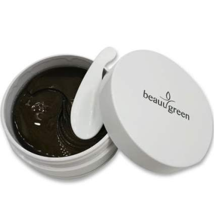 Патчи для глаз BeauuGreen Firming Solution Sea Cucumber & Black Hydrogel Eye 60 шт