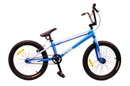 Велосипед Stark Madness BMX Race 2021 One Size синий/белый