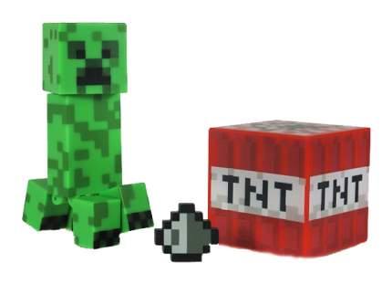 Фигурка Minecraft Creeper Майнкрафт Крипер с аксессуарами, 8 см