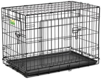 Клетка для собак Midwest Contour 48x76x53см, 2 двери
