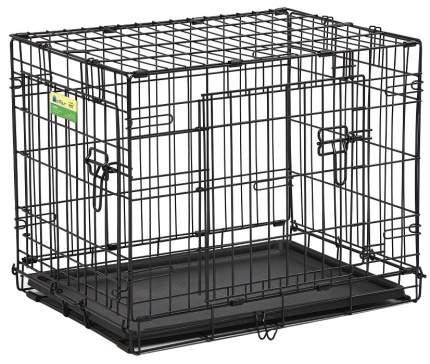 Клетка для собак Midwest Contour 45x63x50см, 2 двери