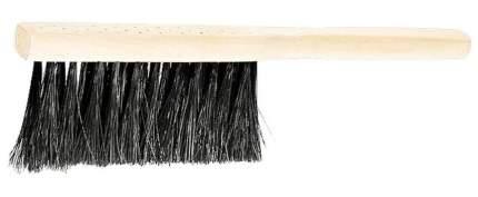 Щетка-сметка 3-рядная, 280 мм, деревянная ручка// СИБРТЕХ