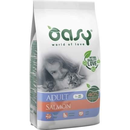 Сухой корм для кошек Oasy Dry Cat, лосось, 0.3кг