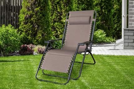 Кресло-шезлонг Hoff Creta 80323615 коричневый