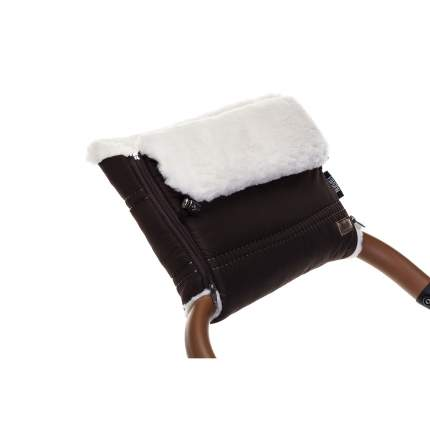 Муфта меховая для коляски Nuovita Alpino Bianco шоколад