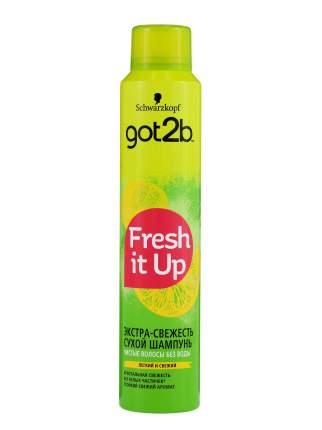 Парфюмированный сухой шампунь got2b Fresh it Up Экстра-свежесть, Легкий и свежий