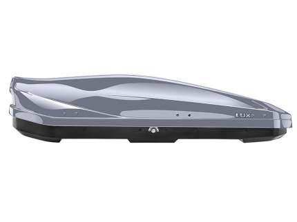 Бокс на крышу автомобиля LUX IRBIS 175 LUX-791026 450л серый металлик 175х85х40