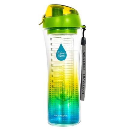 """Бутылка для напитков """"LocknLock"""" BisFree с фильтром,  спортивная,  650 мл, зеленая"""