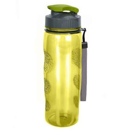 "Бутылка для вoды спортивная ""Termico"" 0,6 л,  Жёлтая"