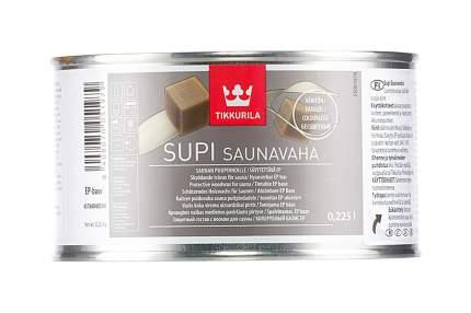 Защитный состав Tikkurila Supi Saunavaha с воском для сауны колеруемый 0,225 л