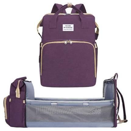Многофункциональный рюкзак-кровать Baziator You Are My Sunshine фиолетовый