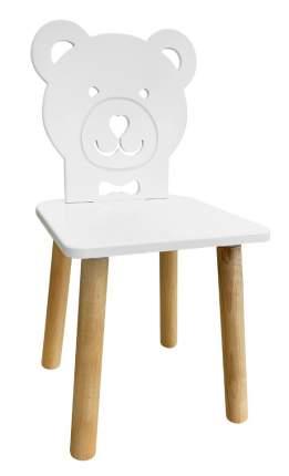 Детский стул Русэкомебель Медвежонок белоснежный Animal