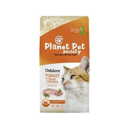 Сухой корм для кошек Planet Pet Outdoor Turkey, индейка,  7кг