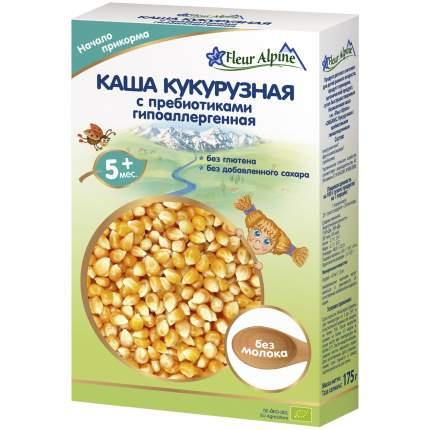 Каша безмолочная Fleur Alpine Кукурузная с пребиотиками гипоаллергенная с 5 мес. 175 г