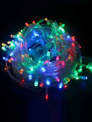 Новогодняя электрическая гирлянда 104914 8 м разноцветный