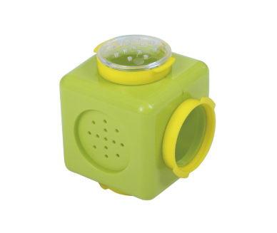 Комплектующие для клеток грызунов Voltrega Куб для туннеля зеленый 9*9*9см