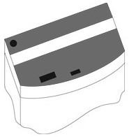 Комплект пластиковых крышек Juwel для аквариума Vision 260, черные, 120x45 см, 2шт
