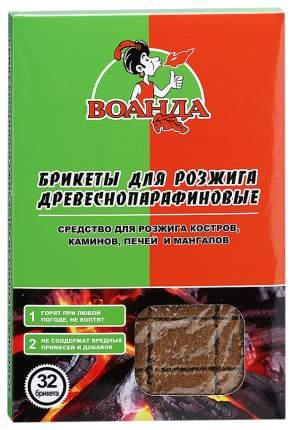Брикеты для розжига древесные Воанда 6336 32 шт.