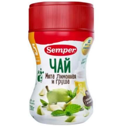 Чай Semper Мята лимонная и груша с 5 мес 200 г