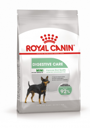 Сухой корм для собак ROYAL CANIN Mini Digestive Care, для мелких пород, 3кг