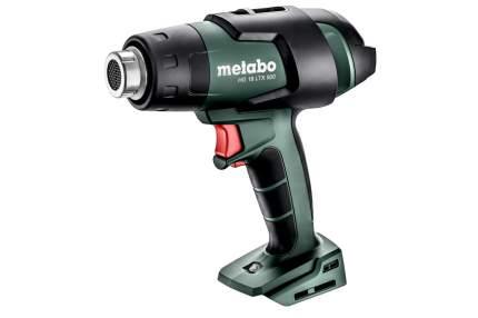 Аккумуляторный технический фен Metabo HG 18 LTX 500